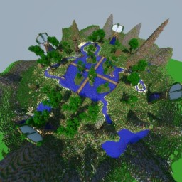 Natural & Medieval HUB (Lobby) Minecraft Map & Project