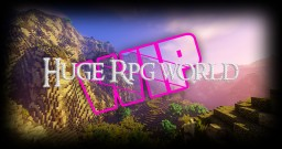 Huge RPG World | WIP [CANCELLED] Minecraft Map & Project