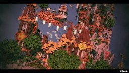 Thornburgh the steampunk village - By Hydroxys Minecraft Project