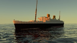 RMS Melbourne 1938 Minecraft Map & Project