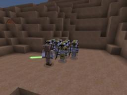 Minecraft Star Wars : Battle on Fondor | 327th vs Droids Minecraft Map & Project