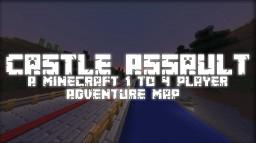 Castle Assault - A Minecraft 1-4 Player Adventure! 1.10+ Minecraft