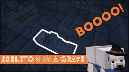 Minecraft - How To Make A Skeleton In A Grave Minecraft
