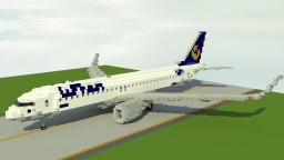 Lufthansa Airbus A320Neo [Download Included + House Livery] Minecraft Map & Project