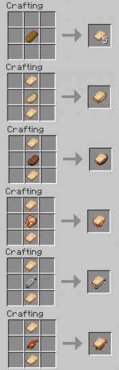 [1.16.4] Sandwich Mod [Fabric] Minecraft Mod