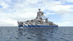 USS Gearing (DD 710) Minecraft Project