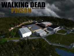 Walking Dead Prison (REAL) NOW 100% COMPLETED! Minecraft Project