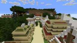 Naruto Konoha - Village Hidden in the Leaves 1-1 scale. Minecraft Map & Project