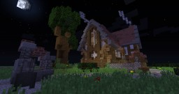 A simple house Minecraft Project