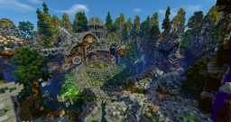 Universal Server Spawn Minecraft Map & Project