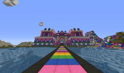 Candy House Parkour Map! Minecraft Project