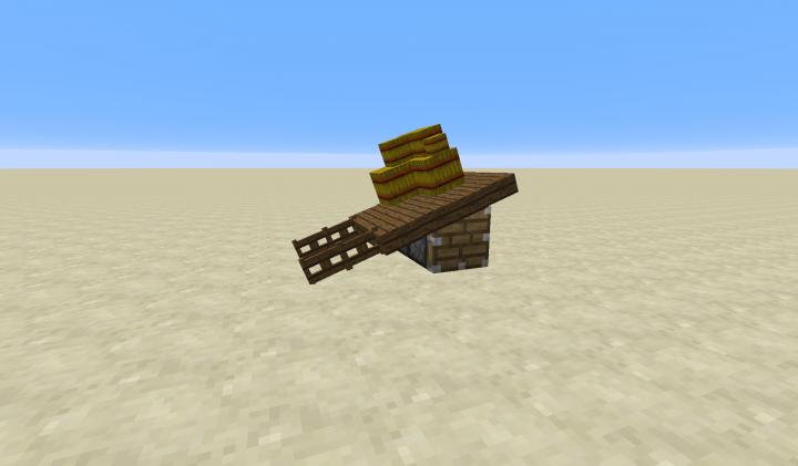 Command block furniture creation (miniature boat / wagon) Minecraft