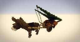 Donkey Cart - Minecraft Creation Daily Challenge- Day#4 Minecraft Project