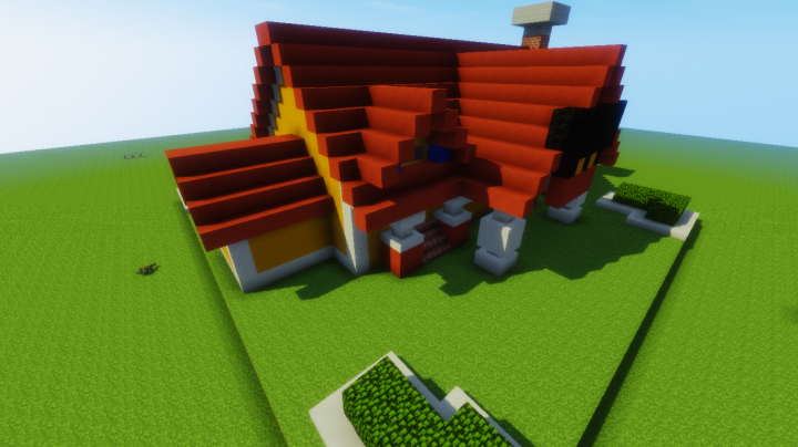 Mickey Mouse House Minecraft Project