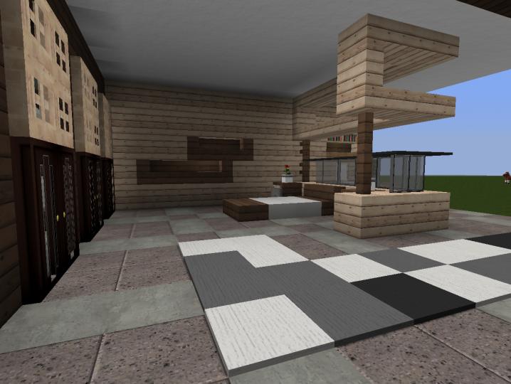 3 Modern Bedroom Designs Minecraft Map