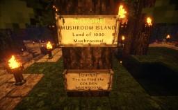 Top SkyBlock: Mushroom Island! Land of 1000 Mushrooms Minecraft Map & Project