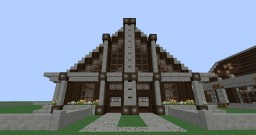 16X16-Modern Home Build # 2 Minecraft Map & Project