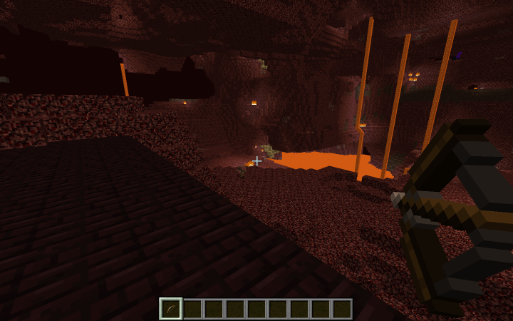 Bow in the nether
