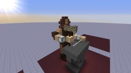 Blacksmith Statue Minecraft Map & Project