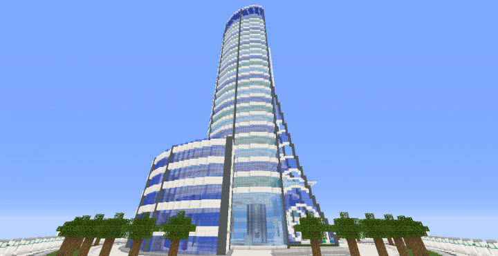 Quartz Tower 7 Minecraft Project