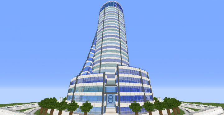 100 Floors Level 16 Main Tower Quartz Tower 7 Minecraft