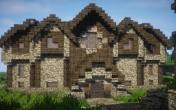 Medieval Library Minecraft