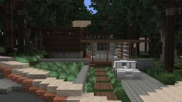 Modern House (for WOK Christmas Buildoff) Minecraft Map & Project