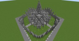 45x45 4-way decorative structure Minecraft Map & Project