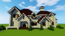 AMERICAN MANSION Minecraft Map & Project