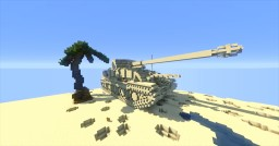 Marder III (Sd.Kfz. 139) Remastered 1942 Minecraft