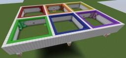 Wool Wars 1.10+ Mini-game Liamswag7- Minecraft