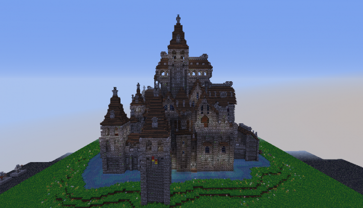 Oakheart Castle Ii Schematic Minecraft Project