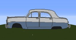 Ford Zephyr 6 Minecraft Map & Project