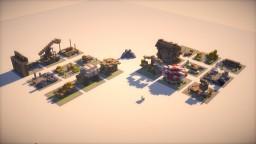 Medieval Exterior designs - Bundle Minecraft Map & Project