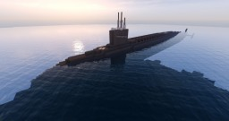 Ohio-class Nuclear Ballistic Missile Submarine (SSBN) Minecraft Map & Project