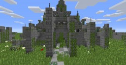 45x45 4-way ruins Minecraft Map & Project