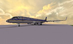 Giant Embraer 190 (8:1 scale) +download Minecraft Project