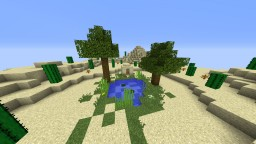 Oasis of Desert Minecraft Map & Project