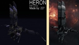 Heron (Caldari Frigate), EVE Online Minecraft Map & Project