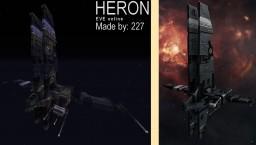 Spaceship Heron (Caldari Frigate), EVE Online Minecraft Map & Project