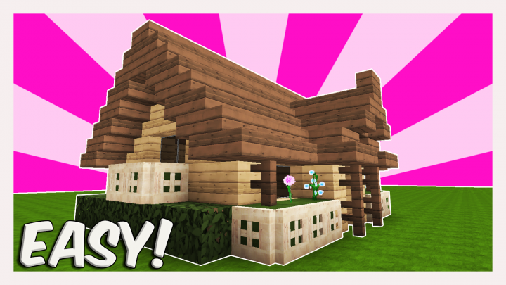 MINECRAFT TUTORIAL : HOW TO BUILD A STARTER HOUSE | Best ...