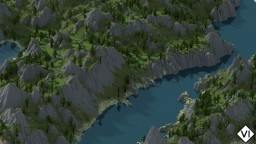 [VI] Valkyrie Terraces - Custom Terrain (Mountains, Rivers, Lakes, Trees) Minecraft Project