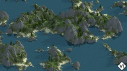 [VI] Pacific Islands - Custom Terrain (Mountains, Ocean, Islands, Trees) Minecraft Map & Project
