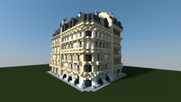 4 French building styles (corners) Minecraft Map & Project