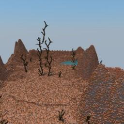 Desert terrain   HUB - SurvvialGames - More! Minecraft Map & Project