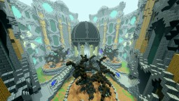 Four Portal Hub Minecraft Map & Project