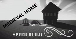 Medieval Home Minecraft Map & Project
