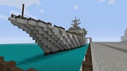 arleigh burke class destroyer Minecraft Project