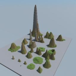 Mountain Bundle - World & Schematics! Minecraft Map & Project