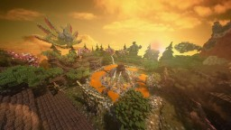 Naruto Adventures, server spawn Minecraft Map & Project